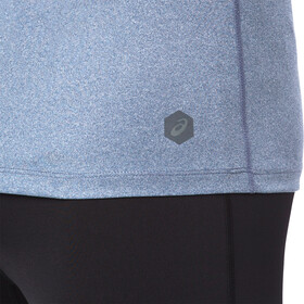 asics Icon SS Top Herren dark blue heather